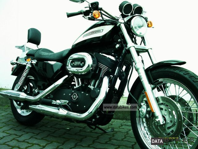 2007 Harley Davidson  Sportster XL 1200 R Dt model Motorcycle Chopper/Cruiser photo