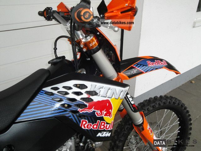 2009 ktm exc 530 redbull decor for Decoration ktm