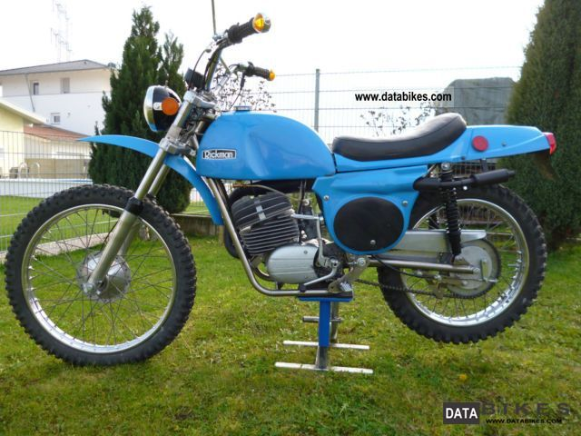 1972 Zundapp  Zundapp 125 GS Rickman Zundapp Six Days Motorcycle Enduro/Touring Enduro photo