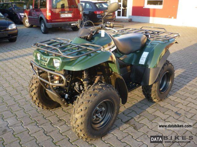Kawasaki  KVF 360 * Only 551 Km * Mint * 2008 Quad photo
