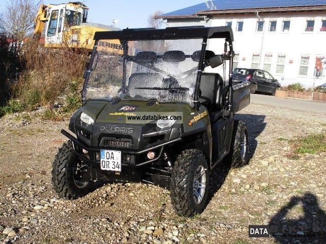 2011 Polaris  Ranger 900 Diesel LOF with cabin Motorcycle Quad photo