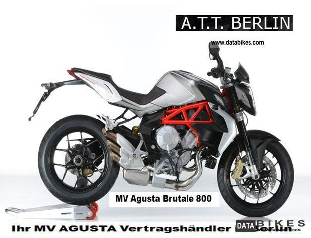 2012 MV Agusta  Brutale 800 - MV one hit for 2013! Motorcycle Naked Bike photo