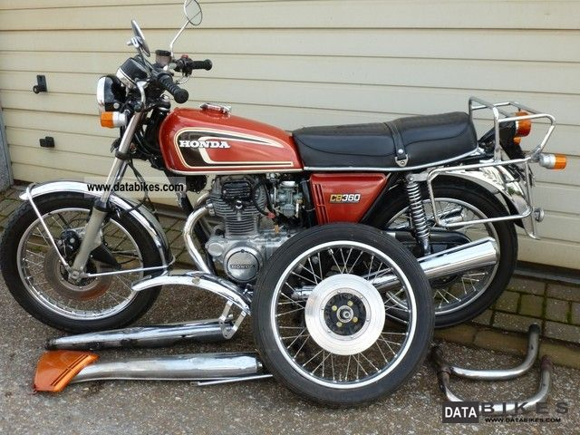 Honda  CB 360 No 250 in the original paint! 2222 incl.Teile 1976 Vintage, Classic and Old Bikes photo