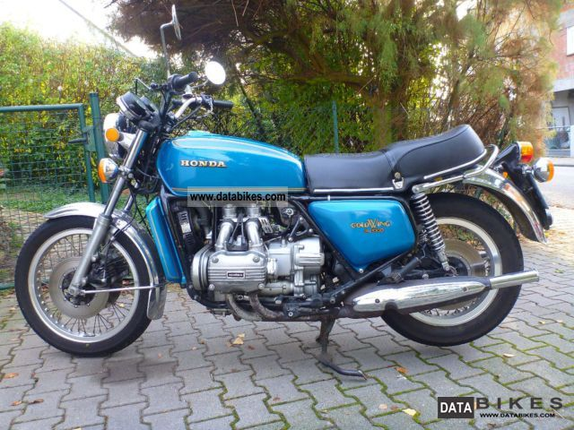 Honda  GL 1000 1977 Vintage, Classic and Old Bikes photo