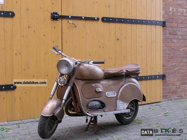 1954 Other  Achilles 175 Sport Motorcycle Scooter photo