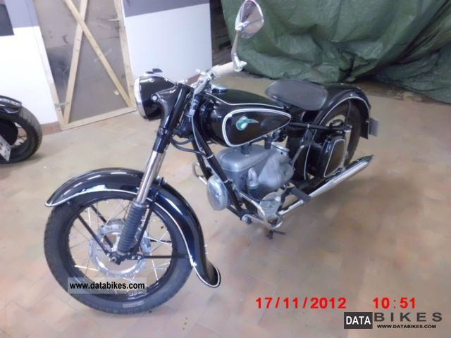 Mz  BK 1957 Vintage, Classic and Old Bikes photo