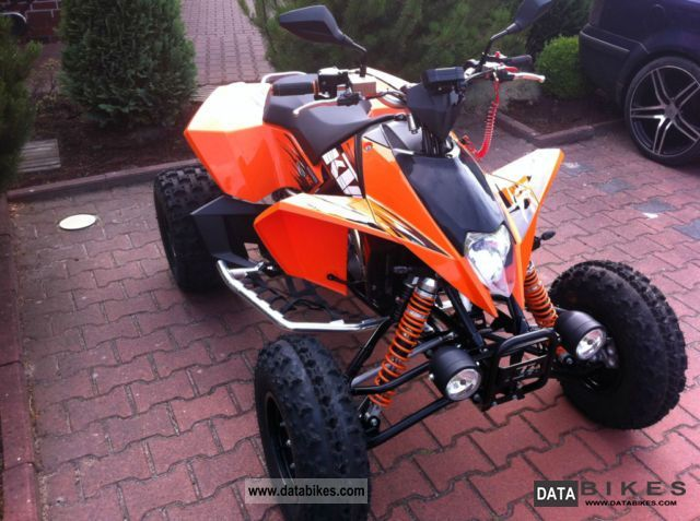 2012 KTM  XC 525 Motorcycle Quad photo