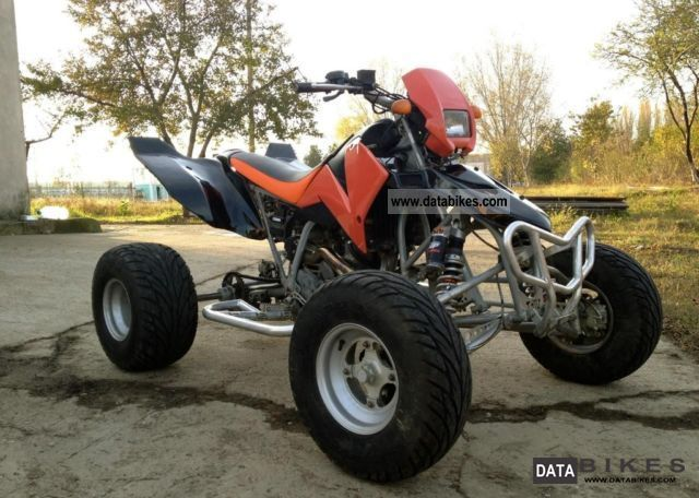 2009 KTM  LC Motorcycle Quad photo