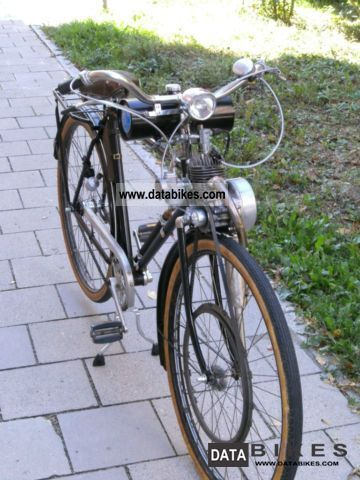 NSU  Bicycle with Rex auxiliary engine 1952 Vintage, Classic and Old Bikes photo