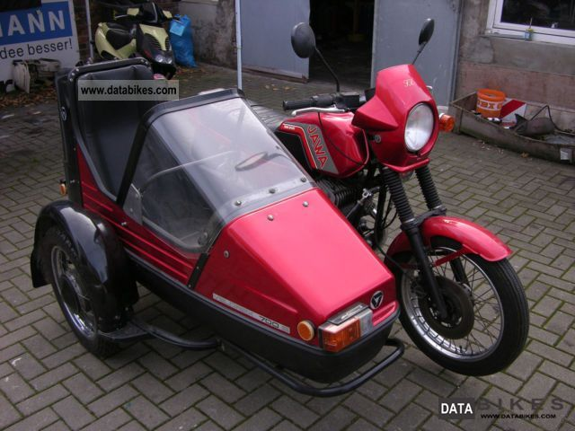 1992 Jawa  TS 350 Motorcycle Combination/Sidecar photo