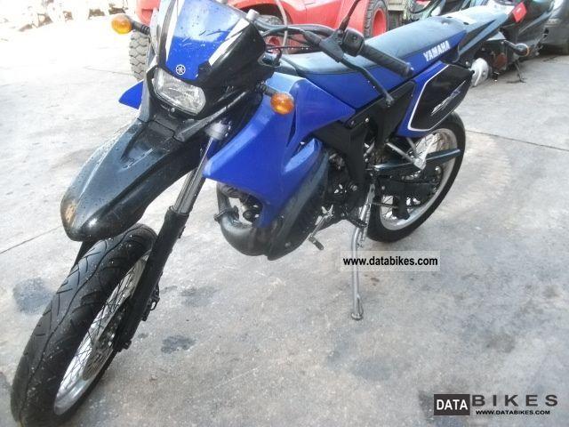 2007 Yamaha  DTX 50 Motorcycle Super Moto photo