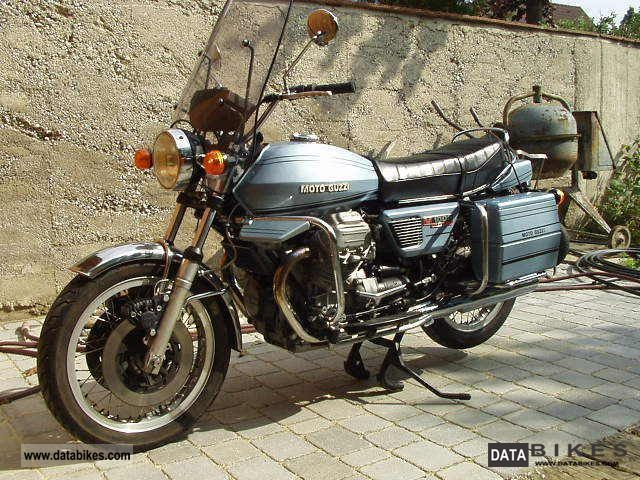 Moto Guzzi  V 1000 Convert 1976 Vintage, Classic and Old Bikes photo