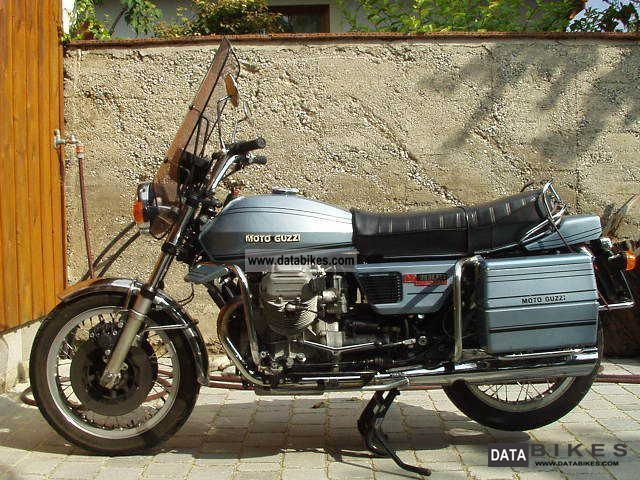 1976 Moto Guzzi V 1000 Convert Motorcycle Photo