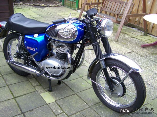 1968 BSA A 65 Thunderbolt Motorcycle Photo
