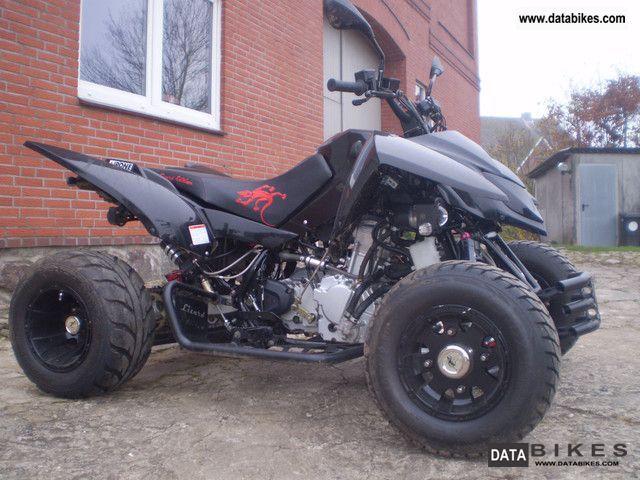 2012 Triton  400 SM Black Lizard EFI LoF Motorcycle Quad photo