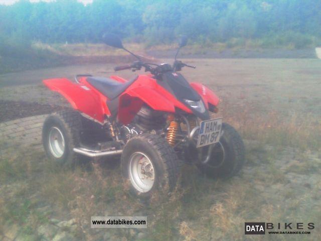 2007 Derbi  DXR 250 Motorcycle Quad photo