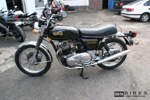 Norton  commando 1973 Vintage, Classic and Old Bikes photo