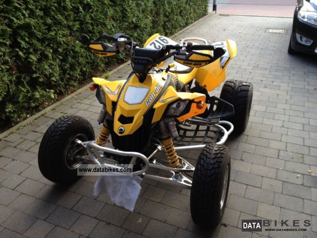 2010 Bombardier  DS450 Motorcycle Quad photo