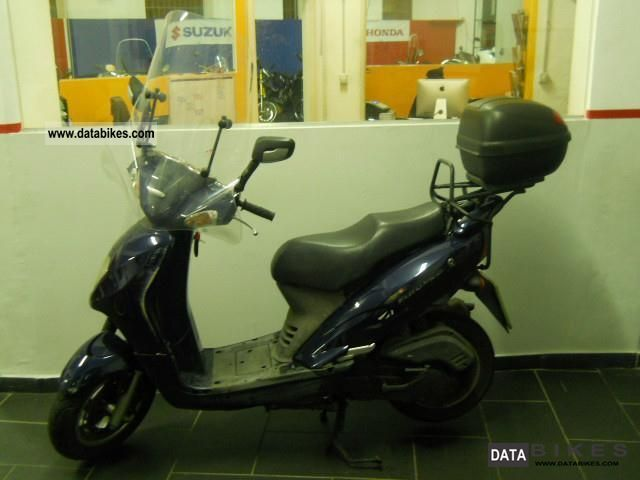 SYM  Others EURO MX 150 2004 Scooter photo