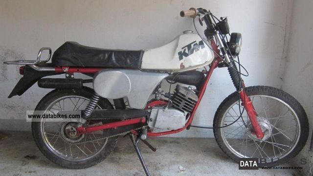 1983 KTM  Bora 25 Motorcycle Motor-assisted Bicycle/Small Moped photo
