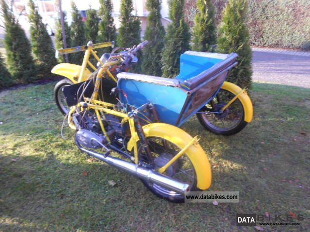 Simson  Krause Duo 1967 Vintage, Classic and Old Bikes photo
