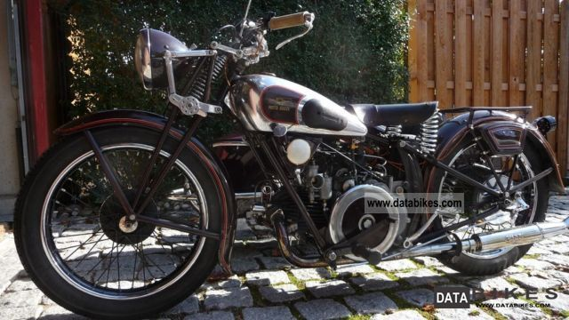 Moto Guzzi  Sport15 with sidecar 1935 Vintage, Classic and Old Bikes photo