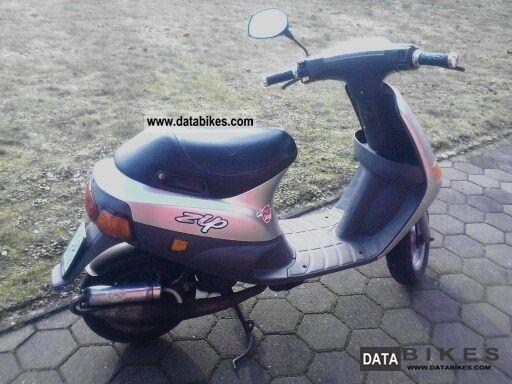 1997 vespa piaggio zip 25 ssl25 moped scooter