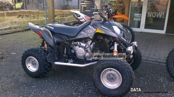 2011 Polaris  OUTLAW 525 with LOF Motorcycle Quad photo