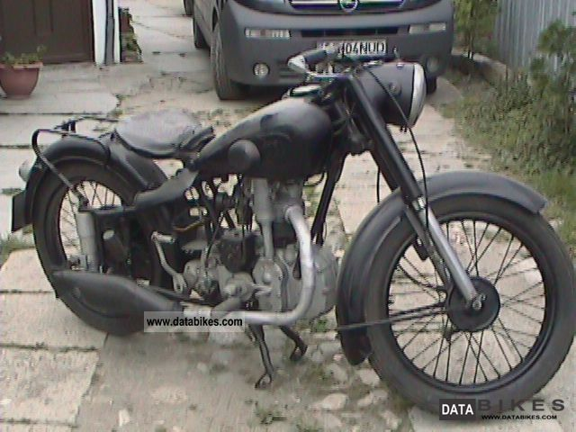 NSU  251 OSL 1940 Vintage, Classic and Old Bikes photo