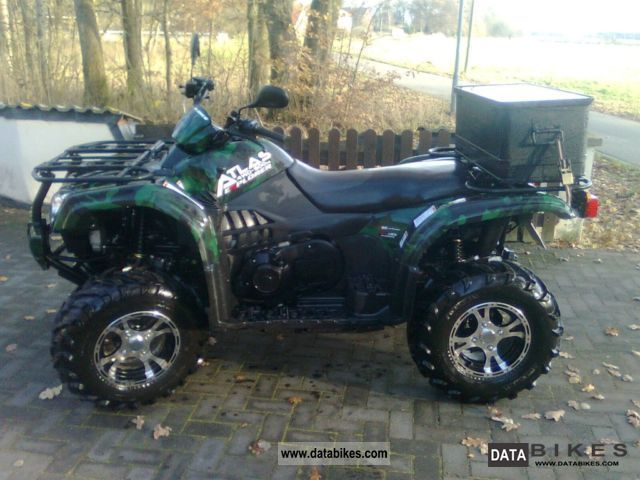 2012 CFMOTO  atlas 4x4 Explorer Motorcycle Quad photo