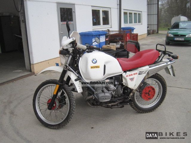 1989 BMW  R 650 Gs team Motorcycle Motorcycle photo