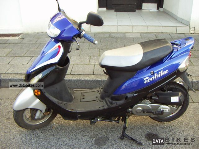 2006 Baotian  mks Ecobike Motorcycle Scooter photo