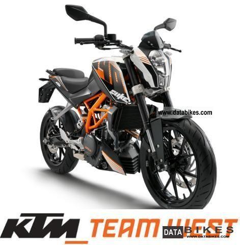 2012 KTM  390 Duke Motorcycle Motorcycle photo