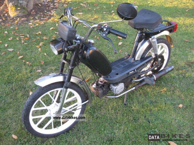 1986 Hercules  M5-634 Motorcycle Motor-assisted Bicycle/Small Moped photo