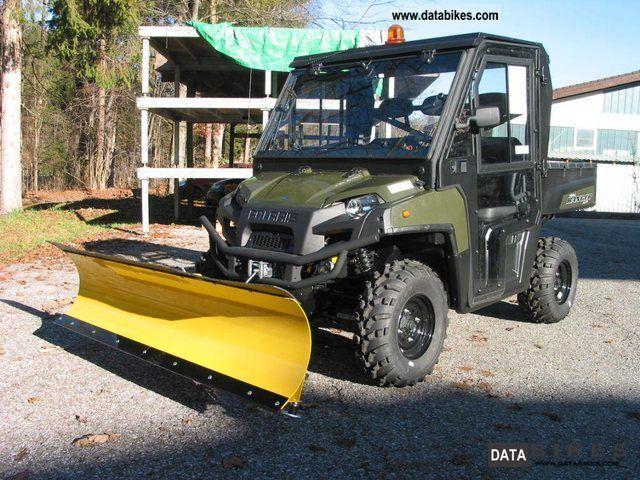 2012 Polaris  Ranger XP 800 EPS for snow plow + + Kabi Motorcycle Quad photo