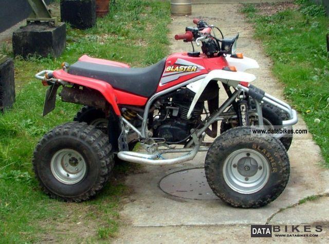 2002 Yamaha  200 Raptor Banshee blaster Motorcycle Quad photo