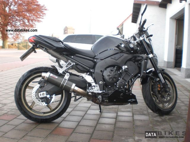2008 Yamaha  Fz 1 Motorcycle Naked Bike photo