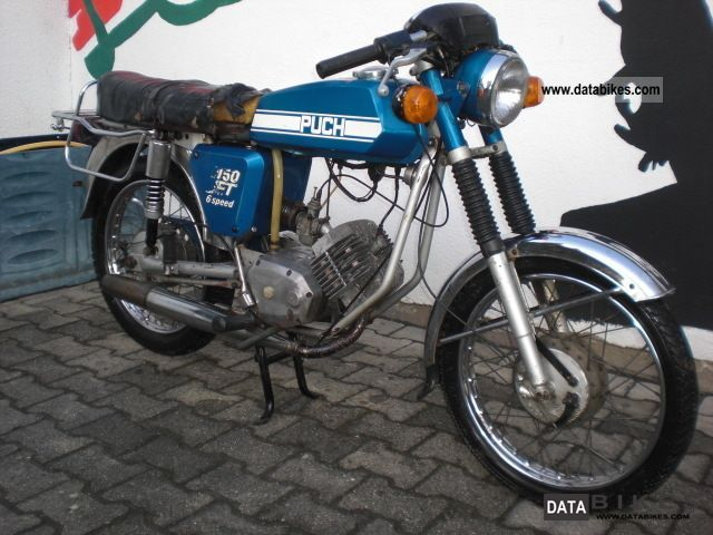 Puch  jet 50 6speed 1976 Vintage, Classic and Old Bikes photo