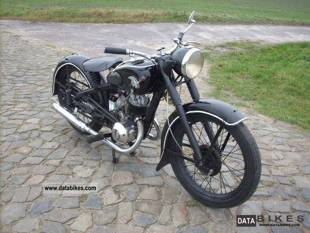 DKW  SB 200, classic cars, built 1937 1937 Vintage, Classic and Old Bikes photo