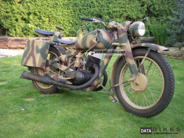 DKW  NZ - 350-1 1944 Vintage, Classic and Old Bikes photo