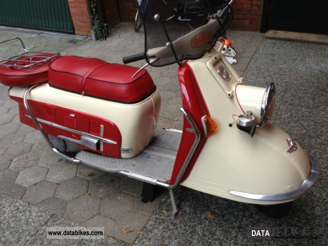 DKW  HEINKEL VISITOR 103 AS NEW 1961 Scooter photo