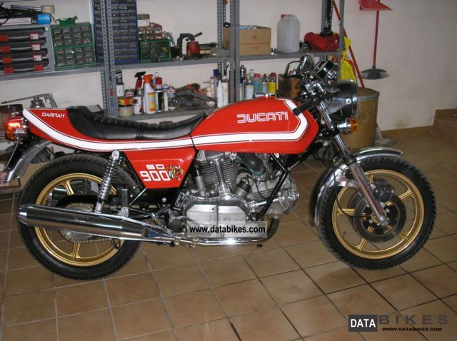 Ducati  Darmah 1977 Vintage, Classic and Old Bikes photo