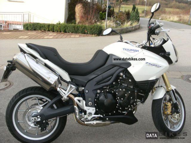 2007 Triumph  Tiger Motorcycle Enduro/Touring Enduro photo