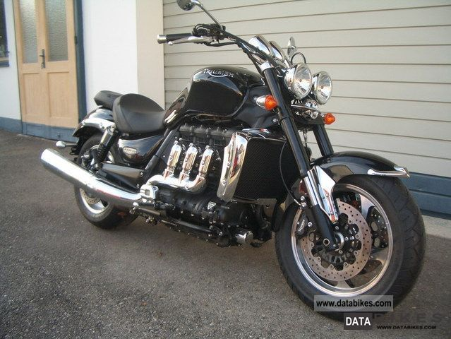 2012 Triumph  Rocket3 Roadster ABS newly Motorcycle Chopper/Cruiser photo
