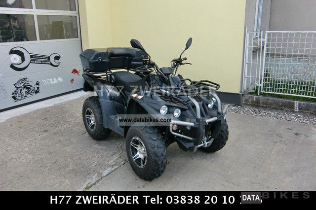 2011 Triumph  Outback Motorcycle Quad photo