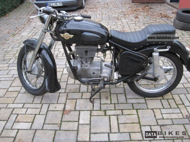 Simson  Sports Awo 1960 Vintage, Classic and Old Bikes photo
