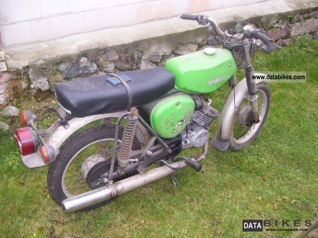 1900 Simson  S51B Motorcycle Motor-assisted Bicycle/Small Moped photo