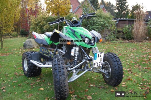 2009 Arctic Cat  DVX Motorcycle Quad photo