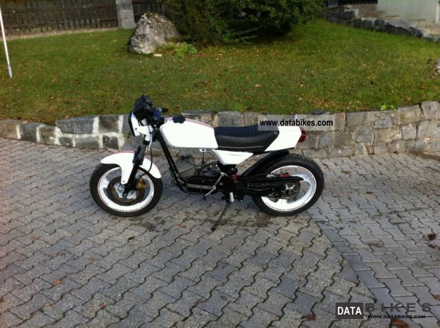 2010 Zundapp Z Ndapp Cs 25 50 Tuning 70cc Moped Scooter Racing