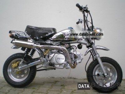 Skyteam Monkey Lemans Club 125 cc New Lightweight Motorcycle/Motorbike